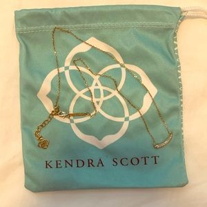 Kendra Scott Gold Necklace with Pendants
